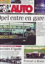 La vie de l´auto 915 - 2 decembre 1999 - opel entre en gare -agadir - ferrari