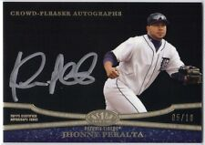 JHONNY PERALTA 2013 TOPPS TIER ONE CROWD PLEASER AUTOGRAPHS #05/10