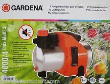 GARDENA 1434 GARTENPUMPE 4000/4 INOX MULTI 3, NEU