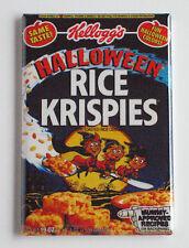 Halloween Rice Krispies FRIDGE MAGNET (2 x 3 inches) cereal box crispies