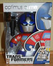 SDCC 2009 EXCLUSIVE TRANSFORMERS UNIVERSE OPTIMUS PRIME MIGHTY MUGGS MIB