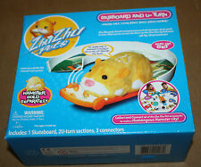 ZHU ZHU PETS ACCESSORIES SK8BOARD AND U-TURN HAMSTER CITY - BUILD, CONNECT