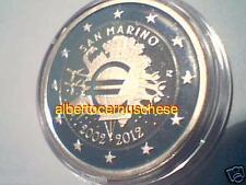 2 euro 2012 San Marino proof Fs BE PP saint marin UEM COM TYE Сан - Марино
