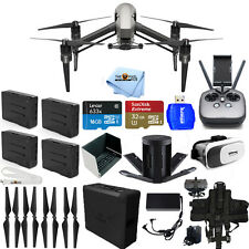 DJI Inspire 2 Quadcopter W/ CineCore 2.0 Image Processing 4 BATTERY BUNDLE NEW!!