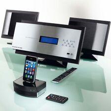 MINOWA Design Vertikal Anlage Z-7787 Audio HiFi Kompakt Stereo iPod Dock | NEU