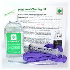 Epson Print Head Cleaning Kit. Unblocks Printer Nozzles 100ml Cleaner
