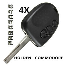 4PCS Keyless 3 Button Remote Key Fob Case Shell for Holden Commodore VS VT VX VY