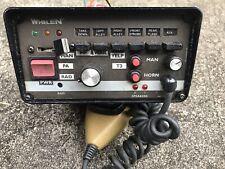 Whelen 295Hfsa6 200 Watt Siren Amplifier w/harness Police Car Take-out equipment