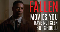 FALLEN DVD Denzel Washington Movie 1998 - FREE POST IN AUSTRALIA - REGION 4