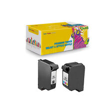 2PK Compatible Ink Cartridge 51645 + C1823D for HP 45 23 Deskjet 710C 712C