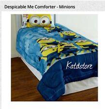 Despicable Minion Twin Size COMFORTER & Sheet Set 4 Pcs NEW