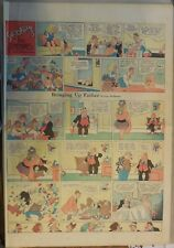 Bringing Up Father Sunday by George McManus from  1/28/1945 Full Page Size!