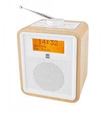 DUAL DAB CR 27  DAB+ FM Digital Radio wecker mit 2 einstellbaren Weckzeiten HOLZ