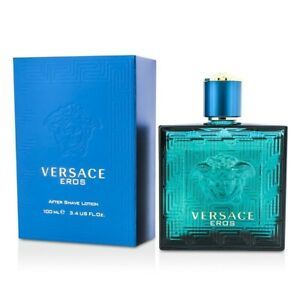 NEW Versace Eros After Shave Lotion 100ml Perfume