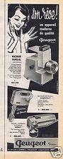 Publicité Advertising 056 1961 Peugeot Fréres electromenager