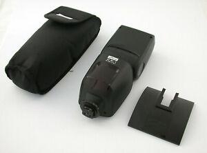 METZ 52AF-1 52 AF digital Blitz-Gerät Power flash Sony Alpha 7 7III R M3 top /21