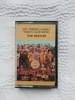 THE BEATLES SGT PEPPERS LONELY HEARTS CLUB BAND CASSETTE TAPE 1967 PAPER LABEL