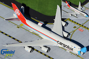 Cargolux 747-8F (Interactive Series) Gemini Jets GJCLX1954 Scale 1:400 IN STOCK