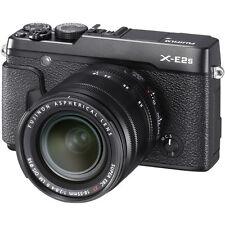 Fujifilm X-E2S Mirrorless Digital Camera - Black with 18-55mm Lens