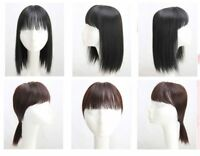 Synthetic Human Hair Mono Hairpiece for Hair Loss Clip in Hair Topper with ba