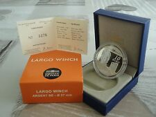 10 euro BE France 2012 argent - LARGO WINCH RARE !!!!