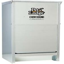 Automatic Dog Feeder Large Dry Pet Food Chow Hound Galvanized