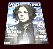 Jack White - White Stripes - Rolling Stone Magazine # 196 Argentina