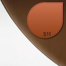 Glasbodenplatte Funkenschutz Kamin Platte Ofenplatte S11 bronze getönt 6mm Neu