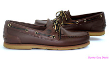 Timberland Mens Moccasins Boat Shoes Loafer Earthkeepers 2 Eye 25021 Slip On 9.5