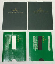 Genuine - Lot Of 4 Rolex Paper Hold & Document Holder