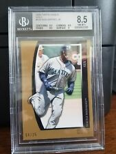 2009 Topps Unigue Gold Ken Griffey Jr. Mariners Baseball Card #105 BGS 8.5 POP 1