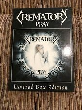 CREMATORY - PRAY 2008 Limited Box Edition DIGIPAK HEAVY GOTHIC METAL