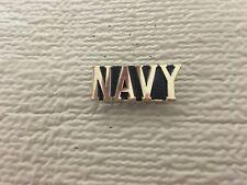 Us Navy Text Script Pin