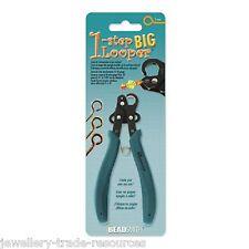 La Beadsmith 1 paso Big Looper alicates de bucle y Corta Alambre la fabricación de joyas