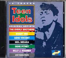 TEEN IDOLS- The Best of Rock n Roll CD (Tommy Roe/Del Shannon/Bobby Vee/Rydell)