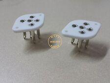 2 TUS-B5 Tube 5 Pin Ceramic Socket PX4 PX25 1701 PX5 PA40 RE134 RE144 REN804