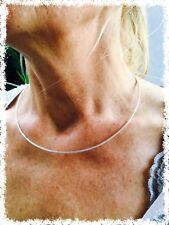 Silberreif Halskette Halsreif Omegareif Tondareif Silber 925 - Stärke 1,85 mm