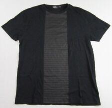 7aeda4b47 TOPMAN European Style Hipster Mod Club Modern Black SS T Shirt Size M