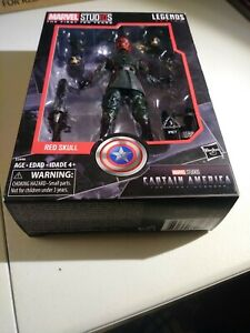 Marvel Studios Legends Series The First Ten Years Captain America Red Skull
