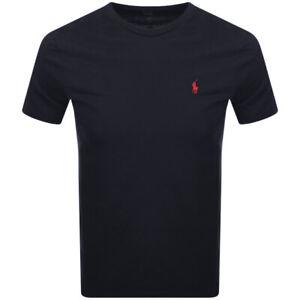 Polo Ralph Lauren Men's Slim Fit Solid Crewneck Tee T-Shirt