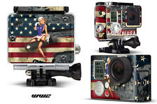 Skin Stickers for GoPro Hero 3+ Camera & Case Decal HERO3+ Go Pro WW2 BOMBER