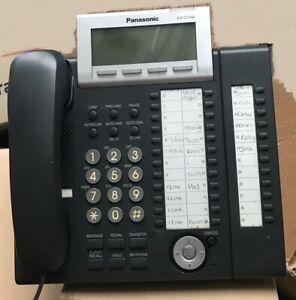 Panasonic KX-DT346 with KX-NT303X-B BLACK DSS CONSOLE