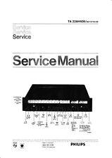 Service Manual-Anleitung für Philips 22 AH 606