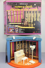 1977 MEGO SONNY & CHER'S THEATRE IN THE ROUND SET BOX RARE HARD TO FIND PLAYSET