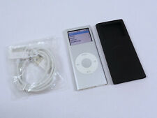 Apple iPod Nano 4GB 2nd Gen Generation Silver MP3 WARRANTY VGC