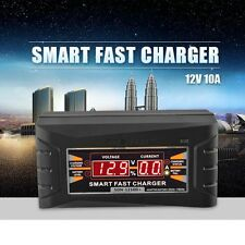 Souer Genuine 12V 10A 20~ 150ah Smart Car Motorcycle Battery Charger LCD Display