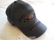 Harley Davidson Skull & Flames Baseball cap gorra 99420-16vm L