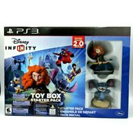 Disney infinity 2.0 Edition Toy Box Starter Pack Play station 3 Stitch & Merida