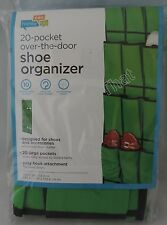 NEW Over the Door Hanging Shoe Organizer 20 pocket Space Saver Storage Hook Wall