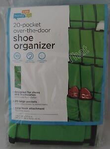 NEW Over the Door Hanging Shoe Organizer 20 pocket Space Saver Storage Hook Wall